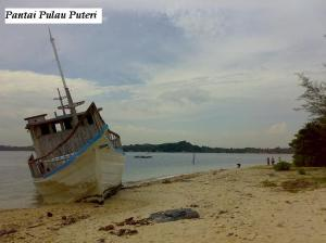 Pantai Pulau Puteri