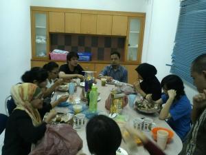 Lunch bareng Sahabat